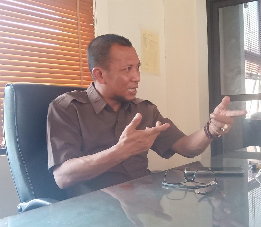 Ketua DPRD Parimo : Sayuti Budianto (Foto : Fara)