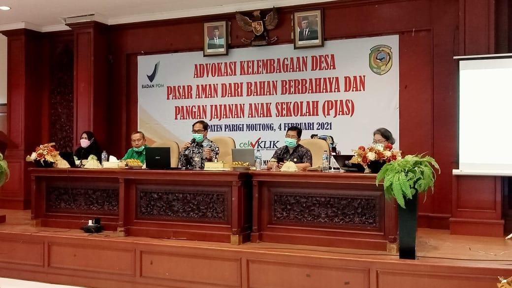 BPOM Advokasi Kelembagaan Desa, Pasar Aman dan PJAS